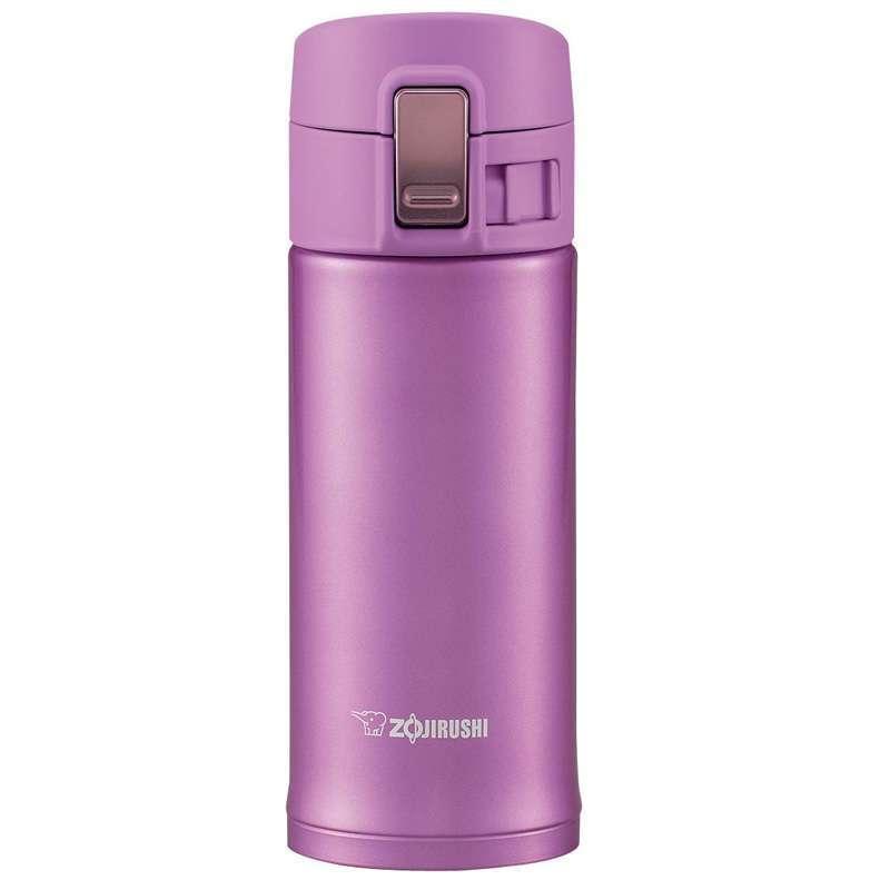 象印缤纷世家单触式不锈钢真空保温杯 SM-KB36 雅粉色