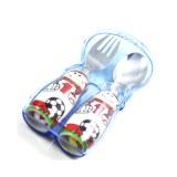 怡饭(EAT4FUN)二重唱餐具配外带盒套装