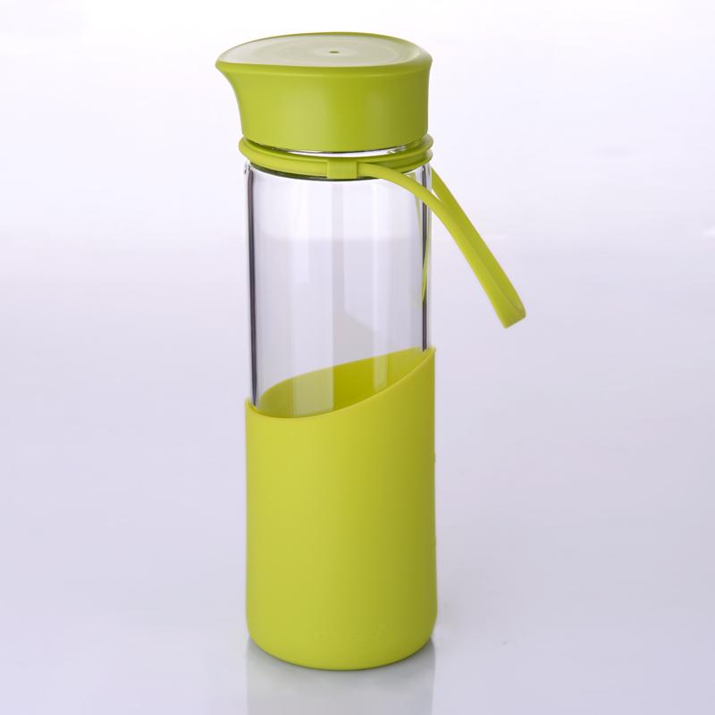 美歌MIGO 享悦系列便携无铅健康玻璃水瓶10-01578-002