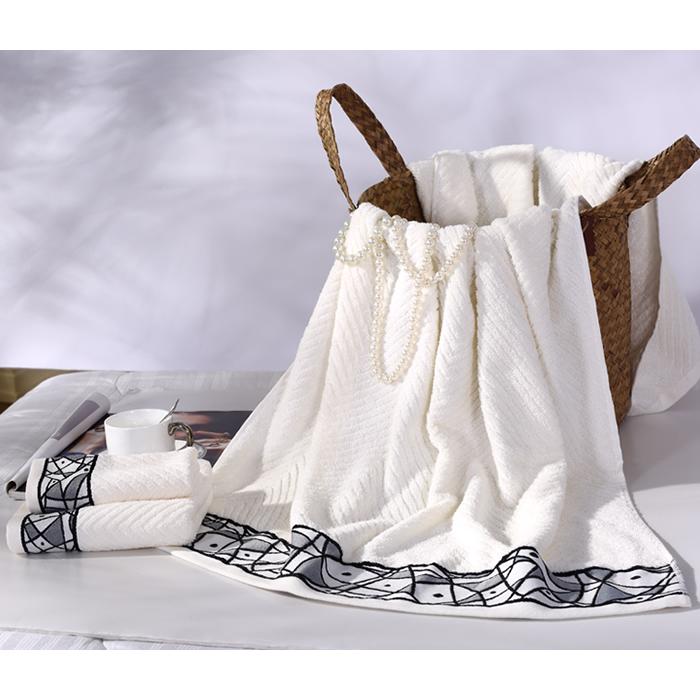 水星家纺-优品毛浴巾礼盒-x03