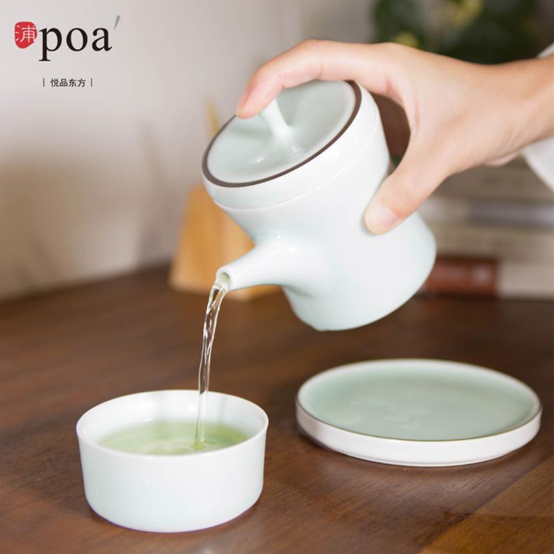 浦poa 玉青瓷一人茶-随心(节节高)CT5018