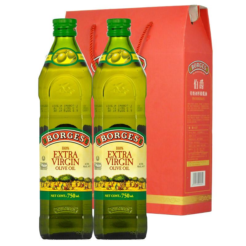 伯爵 地中海风情礼盒装橄榄油 750ML*2
