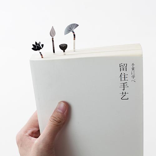 SOZEN CREATE——雨荷书签素色款(6片装)