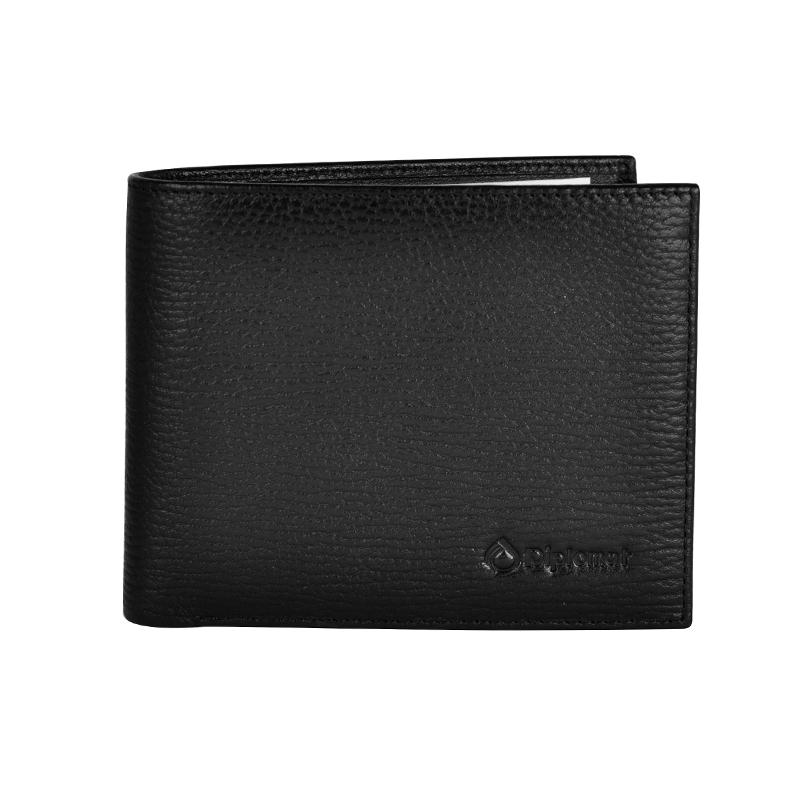 外交官 横夹钱包 DS-1268-1 黑色