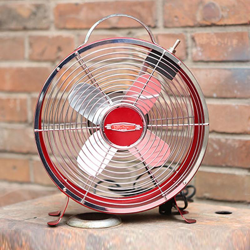 诺思得其 高速台式风扇 RDF800 红色