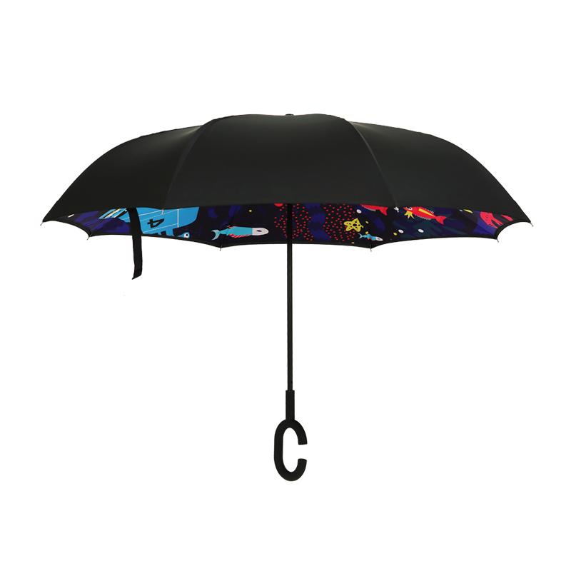 大嘴猴Paul frank 反向雨伞 PFU015