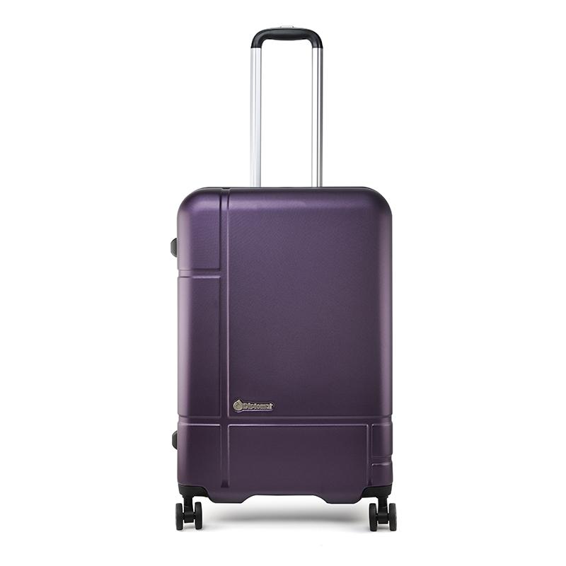 外交官 时尚拉杆箱 DS-1276 紫色 24英寸