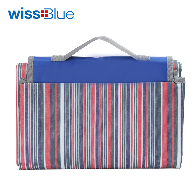 维仕蓝 多功能野餐垫 WAT9909 彩色条纹
