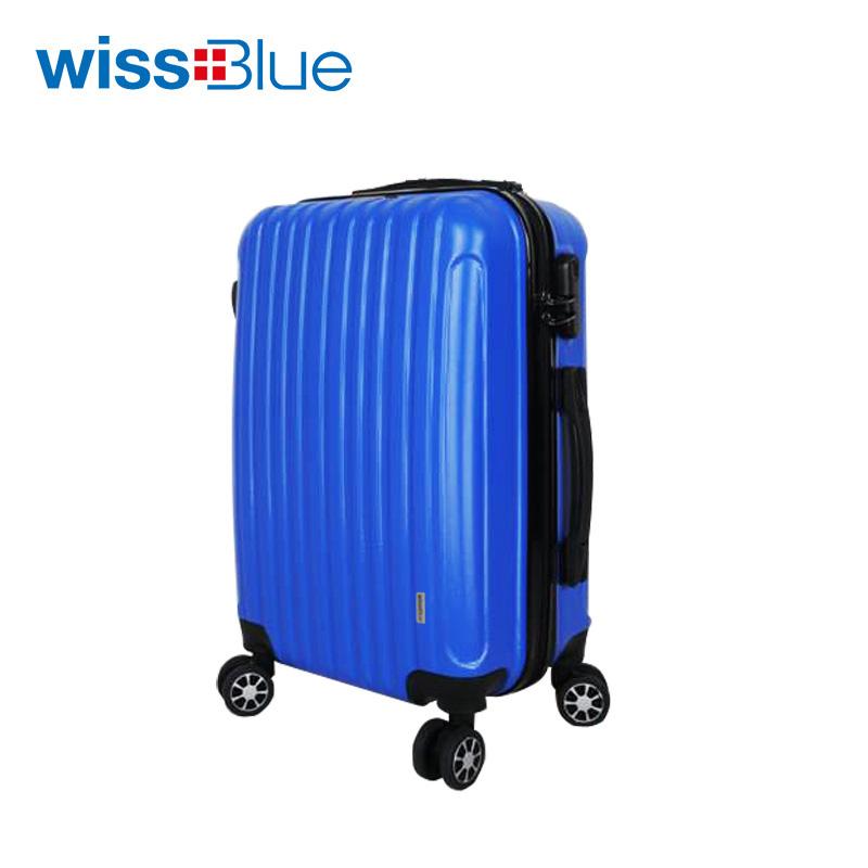 维仕蓝 ABS拉杆箱 A900536 蓝色 20寸