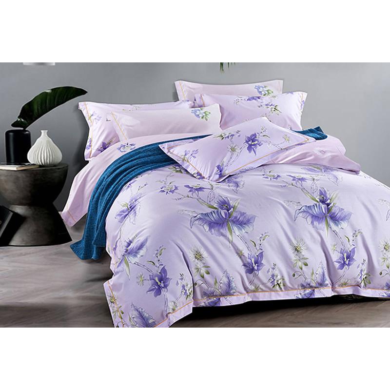 雅兰 床单四件套 紫色情怀 1.5米/1.8床通用