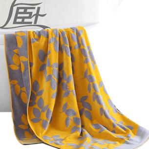 上卧提花毛巾被