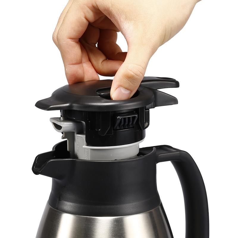 象印不锈钢手提式保温瓶 SH-HA19C-不锈钢色