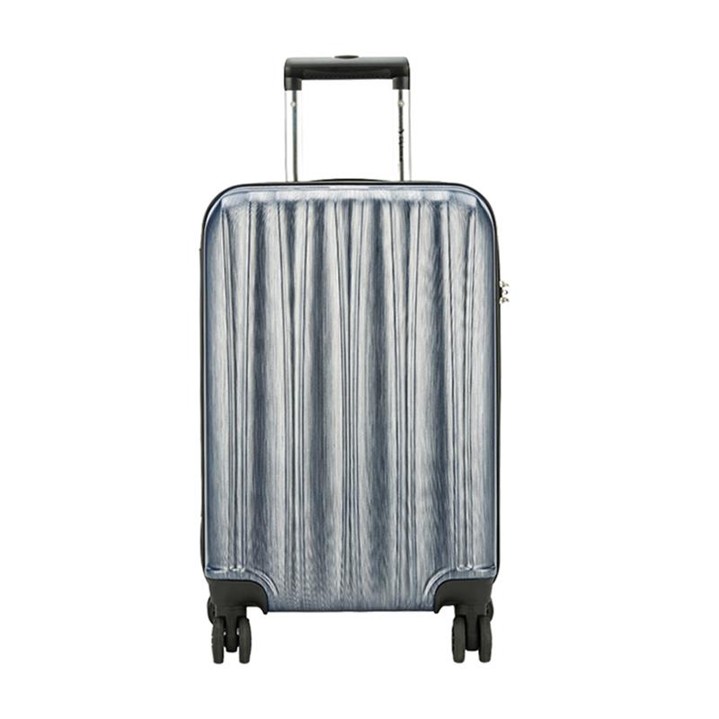 外交官时尚拉杆箱-拉丝银YH-6172-854