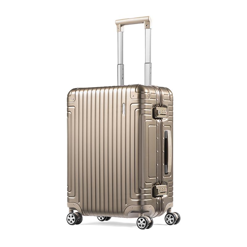 新秀丽经典铝箱登机行李箱20寸DB3*16001