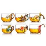 罗比罗丹(LBLD) 水具(花之语六杯)R-33501J 金色