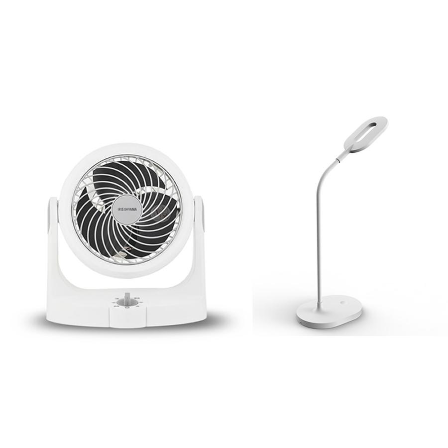 爱丽思循环扇+幻响LED护眼灯