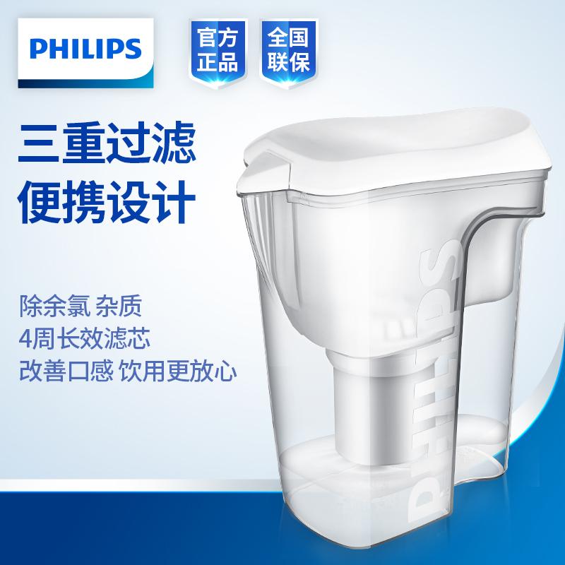 飞利浦 净水壶 白色 1.5L WP4200/00