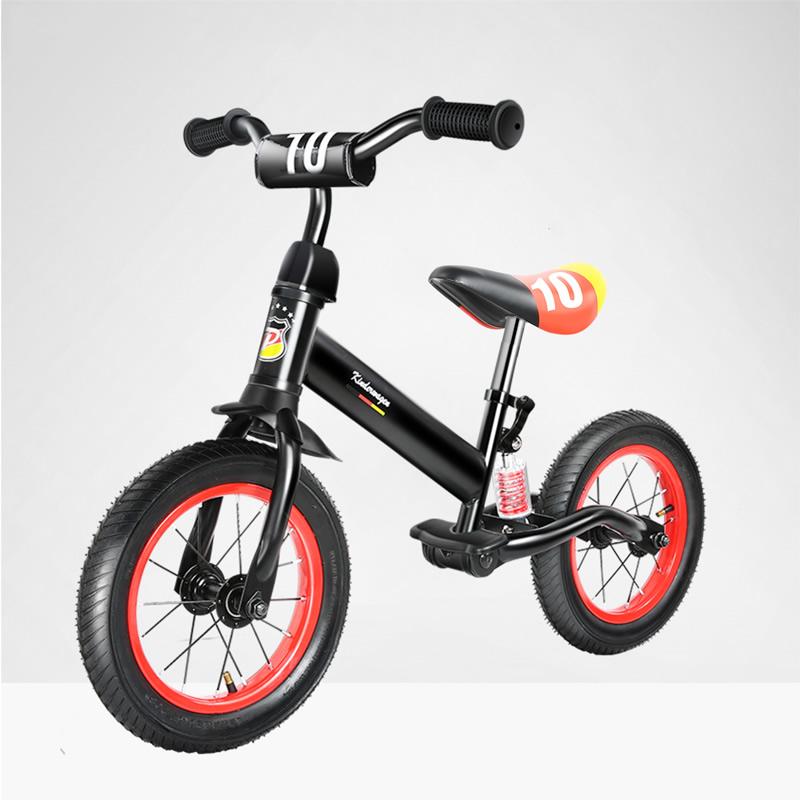 Pouch 儿童平衡车 黑红色 B15