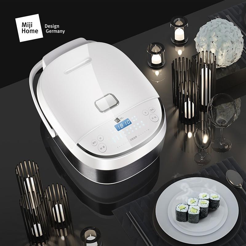 Miji 米技 微电脑多功能电饭煲 白色 ECJ4001