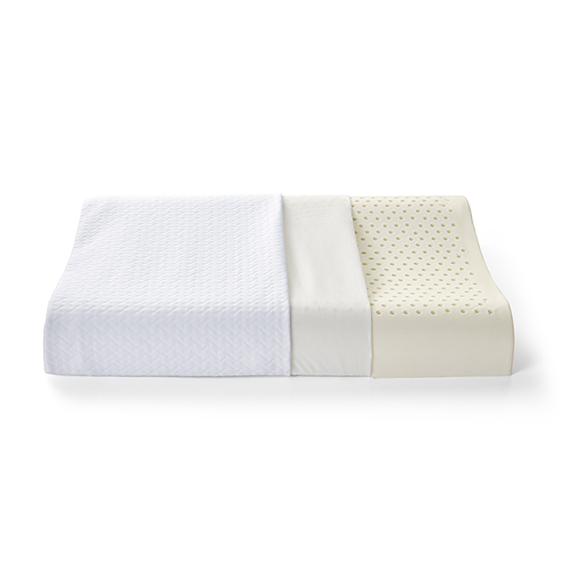 安睡宝多孔透气Q弹乳胶对枕
