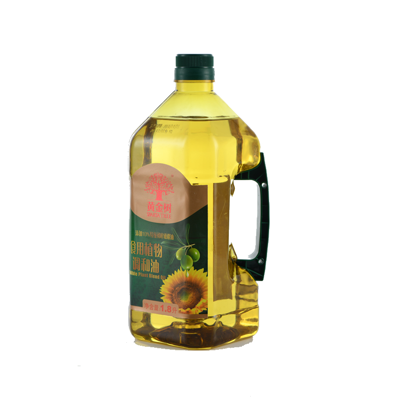 黄金树 食用植物调和油礼盒1.8L*2