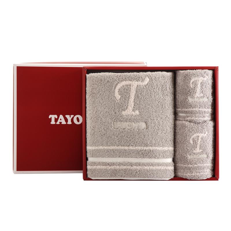 多样屋 英格兰单格毛巾礼盒 TA310201097ZZ 灰色