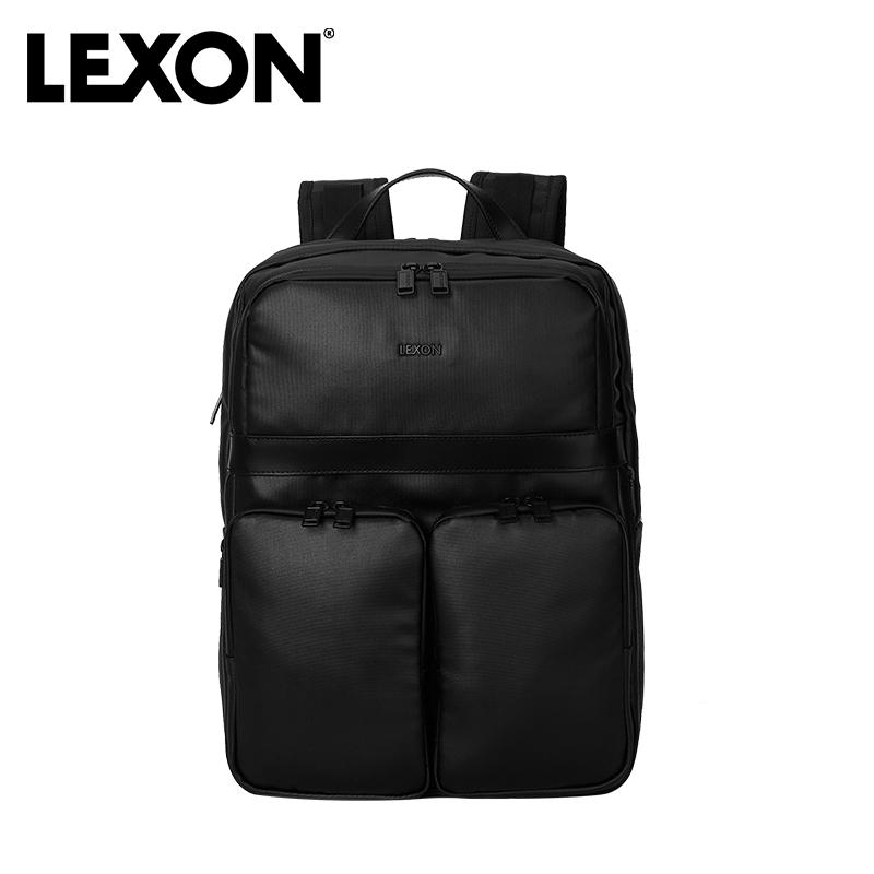 乐上(LEXON) UTILITY系列 双肩电脑包 黑色 LNE1850N