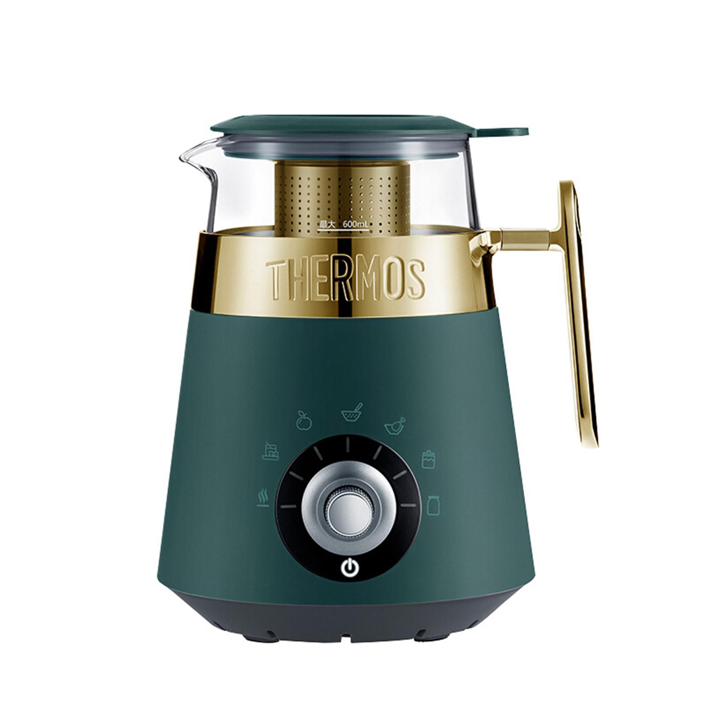 膳魔师(THERMOS) 液体加热器(多功能养生杯) 英伦绿 EHA-1352A-G