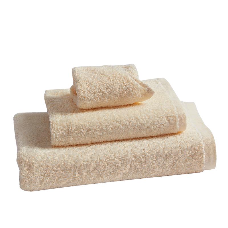 富安娜纯棉毛浴巾三件套