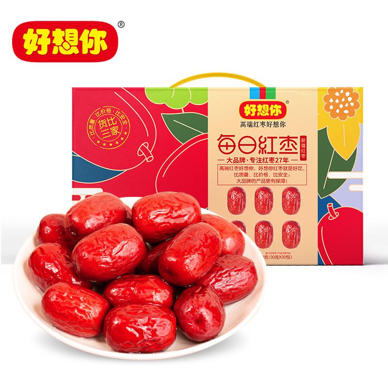 好想你 每日红枣-新疆精选红枣 900g