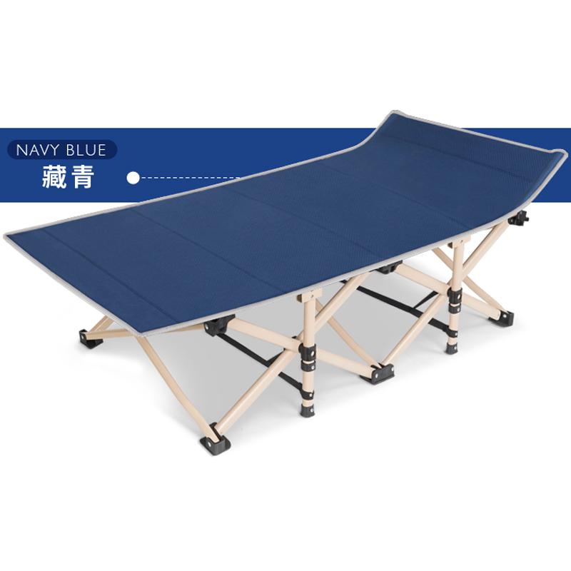 三极户外/Tri-polar 旅游野营折叠床 190*71cm 藏青色 TP1008