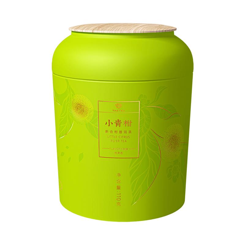 大益 小青柑柑普熟茶(福罐)110g 4302085
