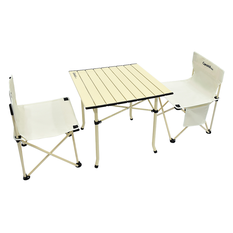 车管家户外折叠桌椅三件套