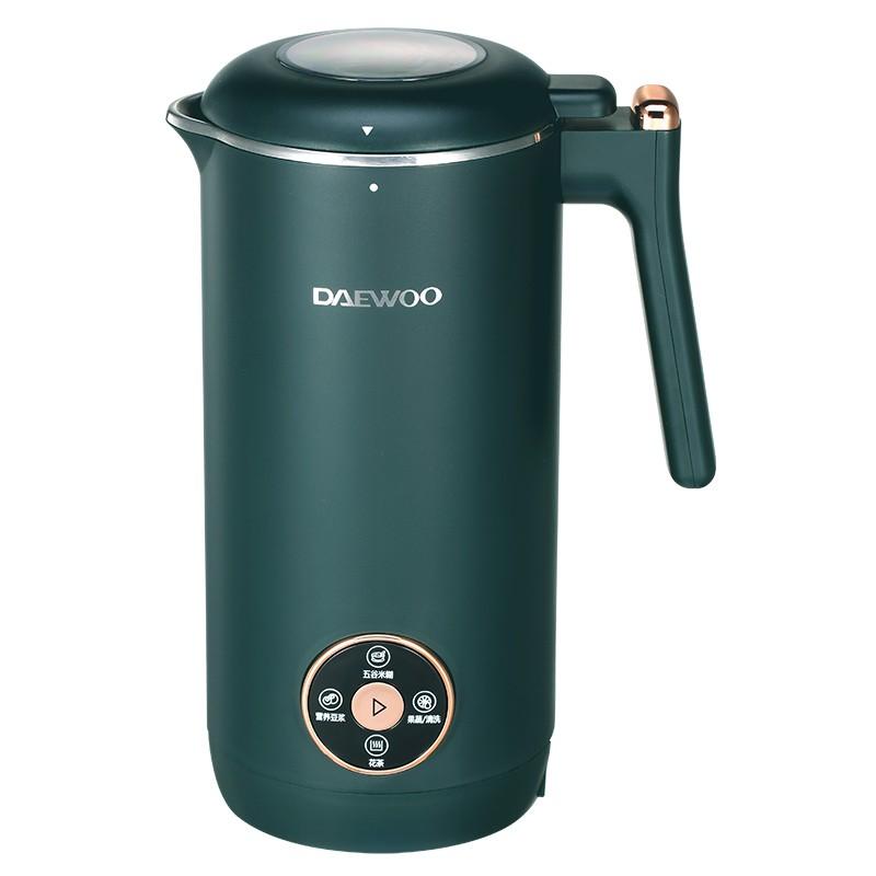 大宇(DAEWOO) 家用迷你豆浆机350ml 绿色 DY-DJ35