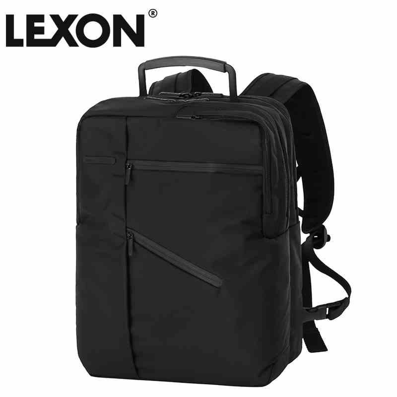 法国乐上 LEXON CHALLENGER 背包LNR0654N4 黑色